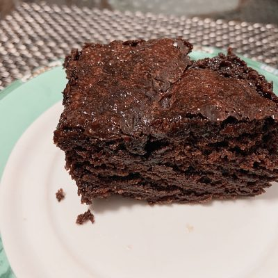 dairy-free fudgy brownies