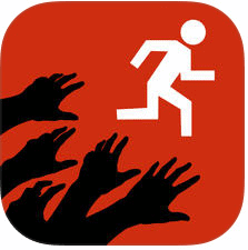 zombie run app logo best free running apps without mobile data