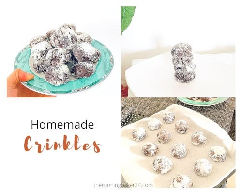 easy dairy free chocolate crinkles