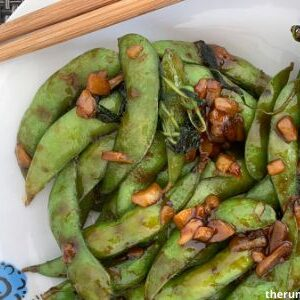 Garlic edamame - Bonus recipes under 30
