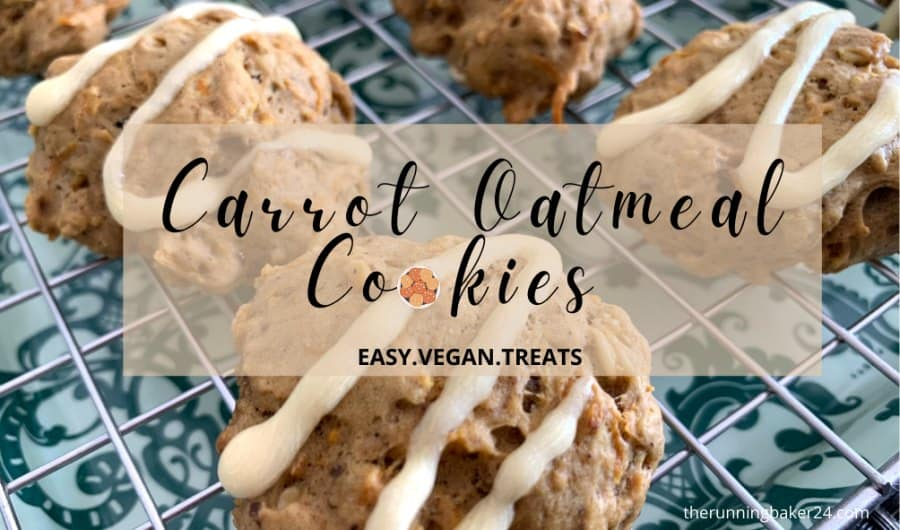 Vegan Carrot Oatmeal cookies