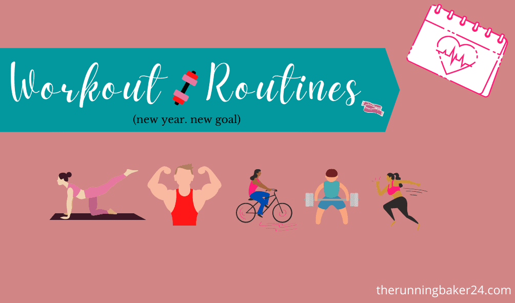 poster for workout routines