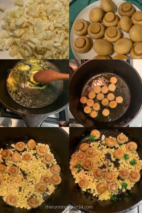 images of steps in cooking