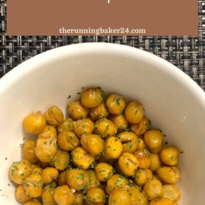 quick and easy roasted chickpeas