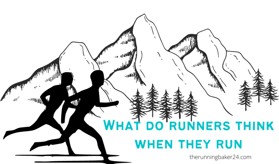 image of runners in the mountain